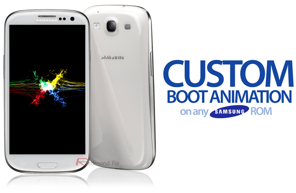Custom Boot Animation Samsung ROM