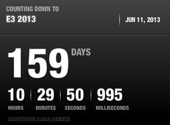 E3 Xbox countdown