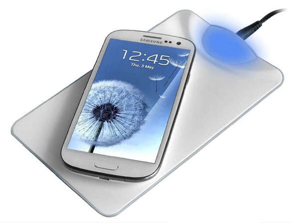 Galaxy S4 wireless charging