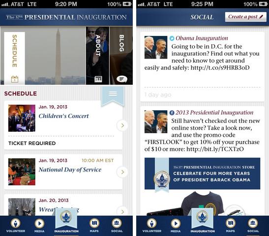 Inaugural 2013 iOS