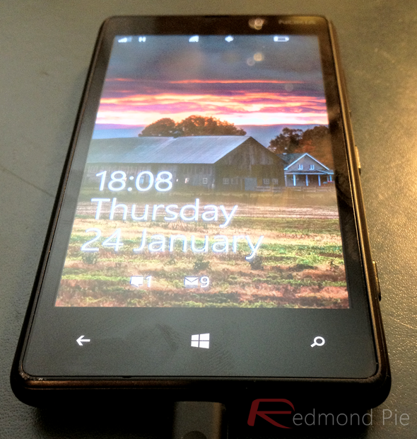 Windows Phone 8 UI