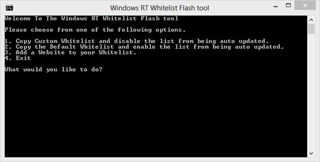 Windows RT Flash Tool