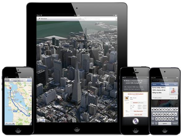 iOS 6 1 maps