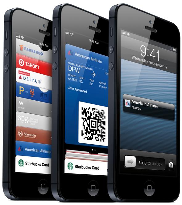 iOS 6 1 passbook