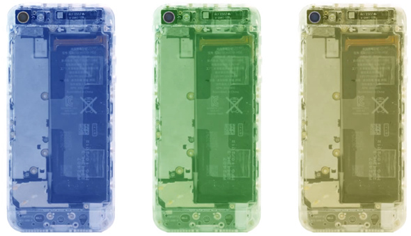 iPhone 5 Mod Translucent 2