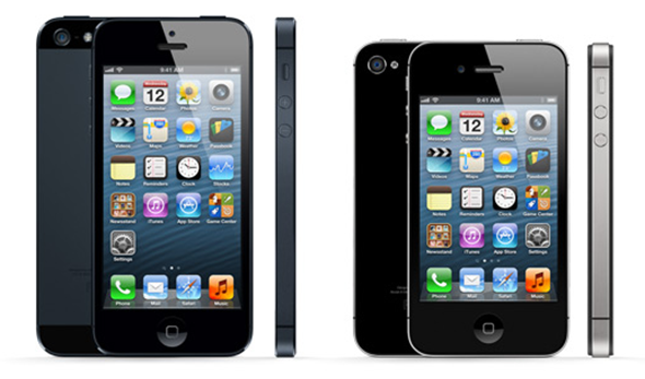 iPhone-5-vs-iPhone-4S-comparison