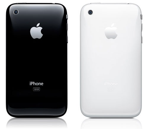 iPhone black and white back