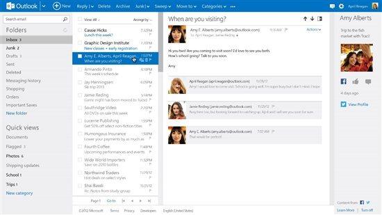 Outlook Com Eigene Domain