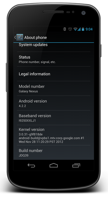 Android 422 JB