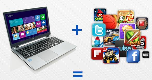 BlueStacks Windows 8