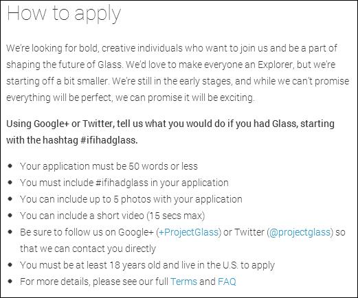 Glass contest