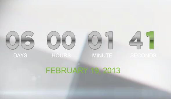 HTC One promo main site