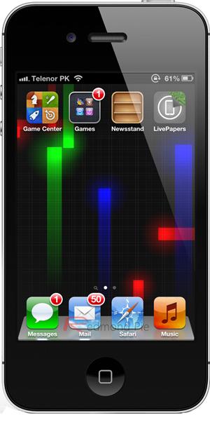 Nexus Live Wallpaper 1 iphone