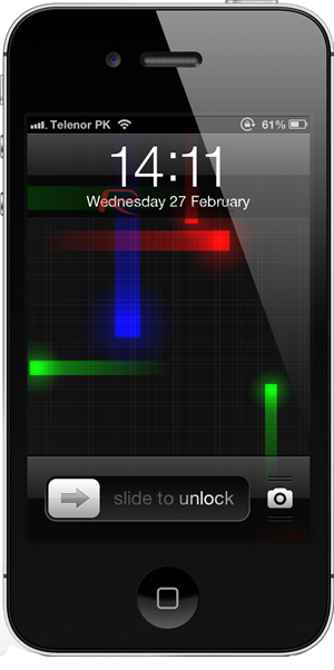 Nexus Live Wallpaper On iPhone