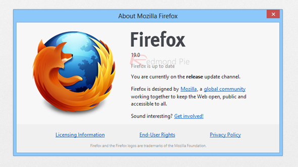 Firefox 19 Released, Get Downloading Now! | Redmond Pie