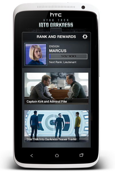 Star Trek into darkness android