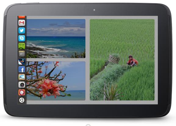 Ubuntu tablet instant launch