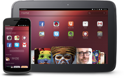 Ubuntu touch phone tablet
