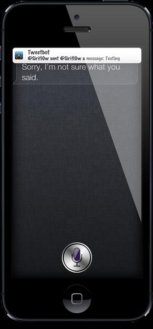 Unveil Siri