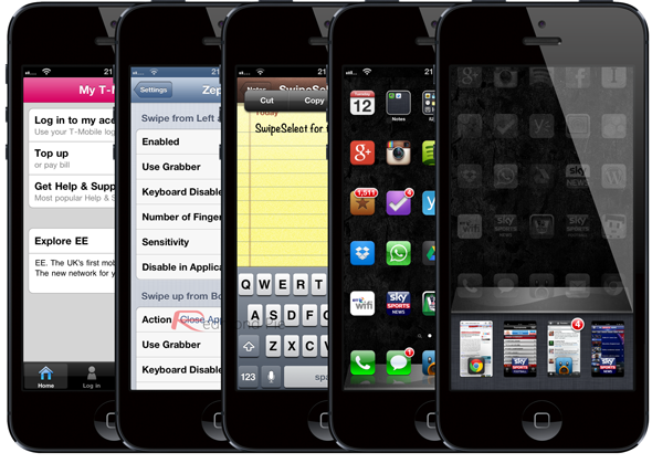 five tweaks for iPhone 5