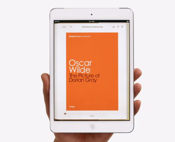 iPad mini ad