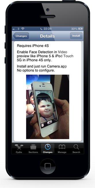 How To Enable Face Detection On iPhone 4S While Recording Video