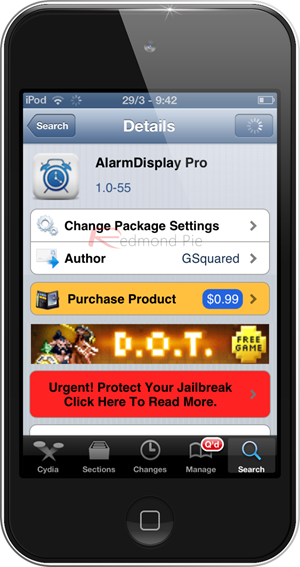 Alarm Display Pro iOS