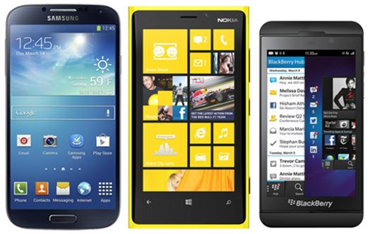 GS4 Lumia 920 Z10