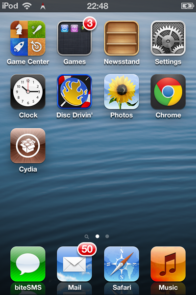 iphone status bar how to add a live compass icon to the status bar on iphone 5855