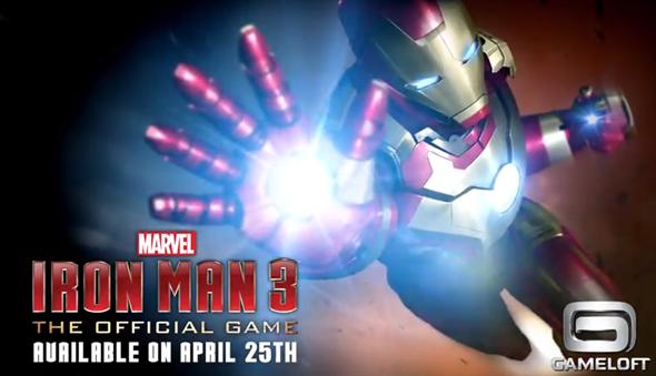 Iron Man 3 splash