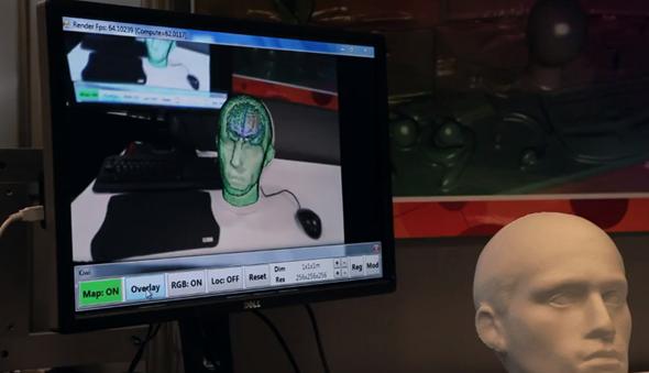 Kinect mod head