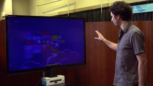 Kinect multitouch