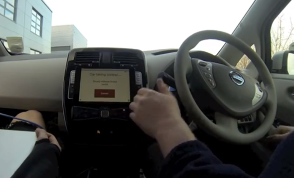 Nissan Leaf ipad