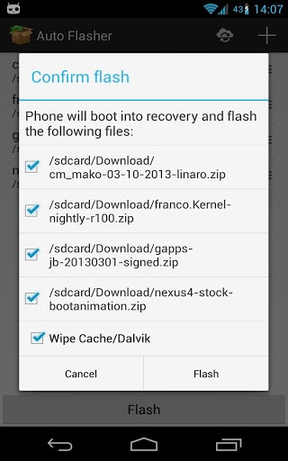 How To Flash Multiple ZIP Files On Android Without Booting
