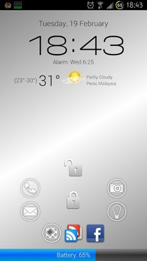 How To Customize Android Lock Screen, Widgets And Device Shake