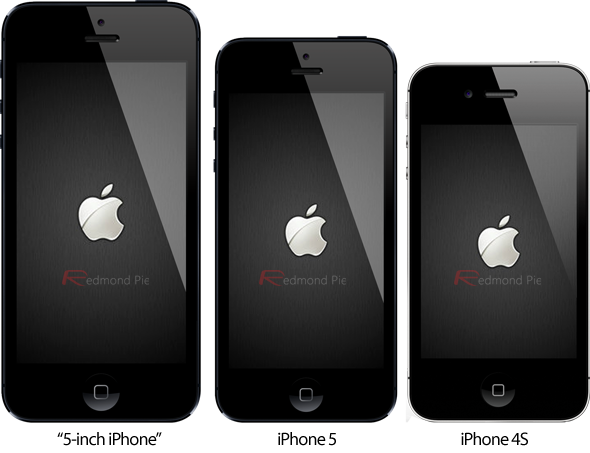 5 inch iPhone iPhone 5 iPhone 4S