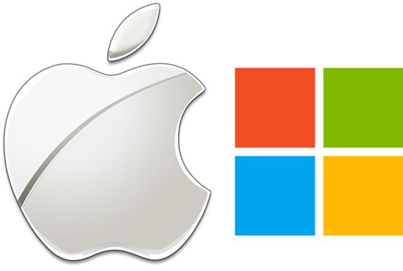 Apple MS logo