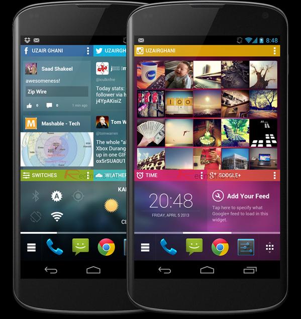 Chameleon Launcher Nexus 4