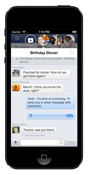 FB chat heads
