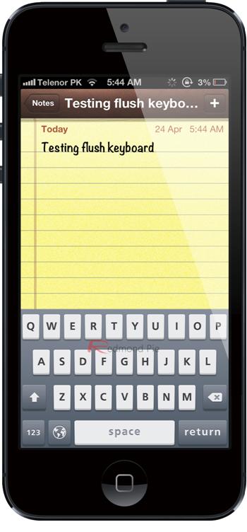 Flush Keyboard 1
