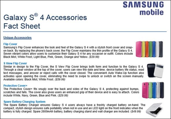 GS4 accessories