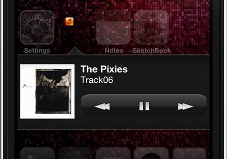 MusicWidget iPod