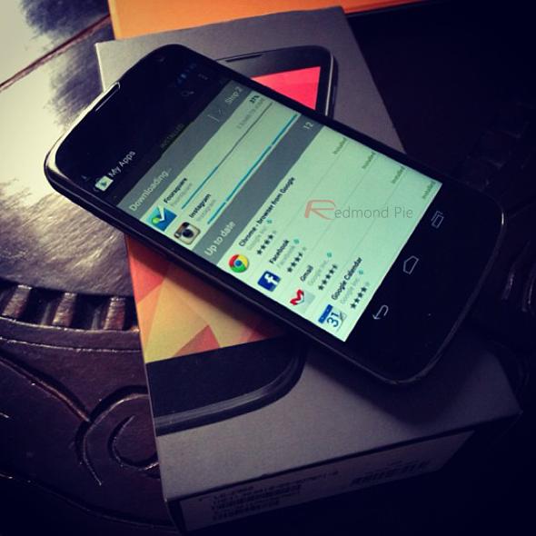 Nexus 4 w box