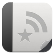 Reeder for iPad1