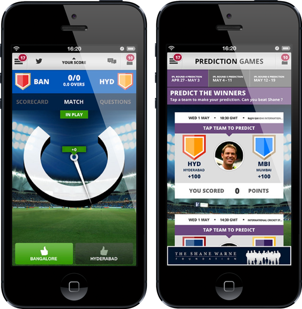 Shane Warne cricket iOS