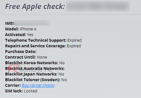 check if my imei is unlocked