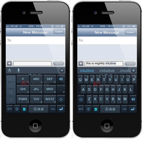 Swype for iPhone 5