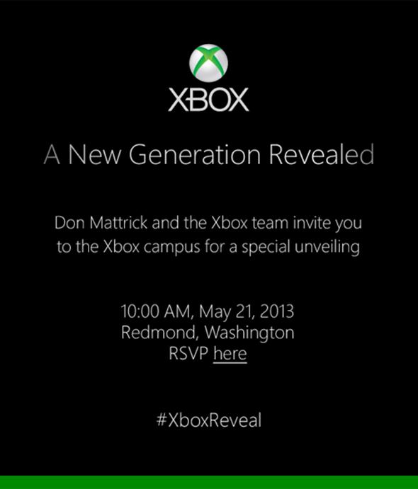 Xbox event invite