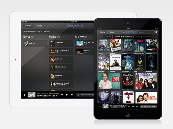iPad Fiber TV App