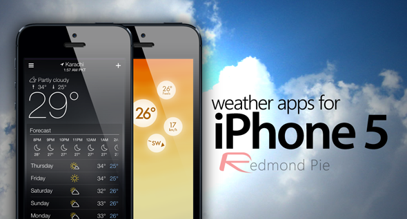 weather apps for iPhone 5